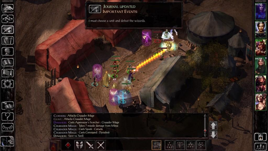 Baldur's Gate Siege - Magia