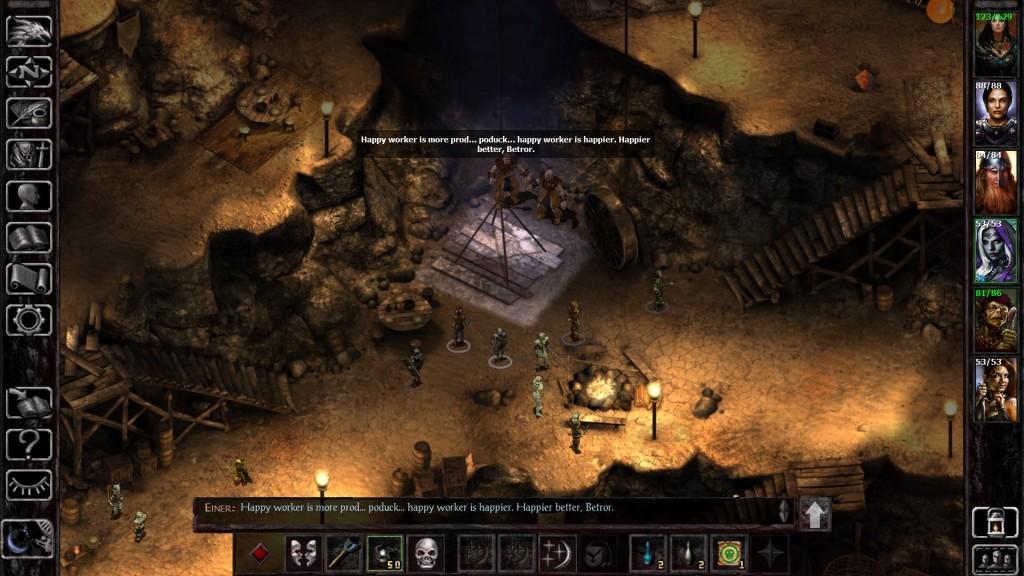 Baldur's Gate Siege - Miniera