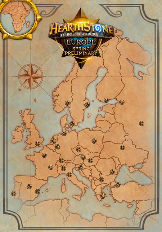 Hearthstone Europe Spring Preliminary - Location