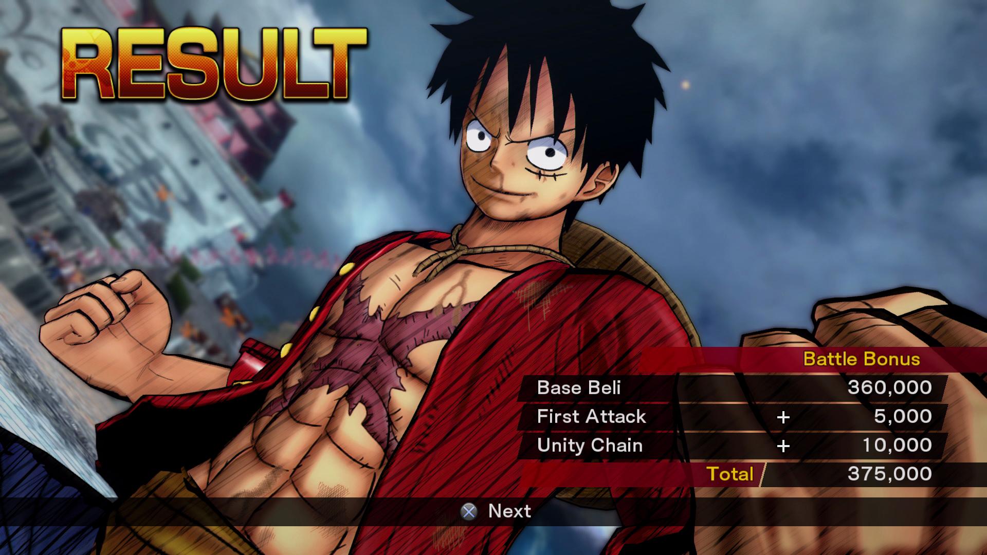 One Piece Burning Blood 15