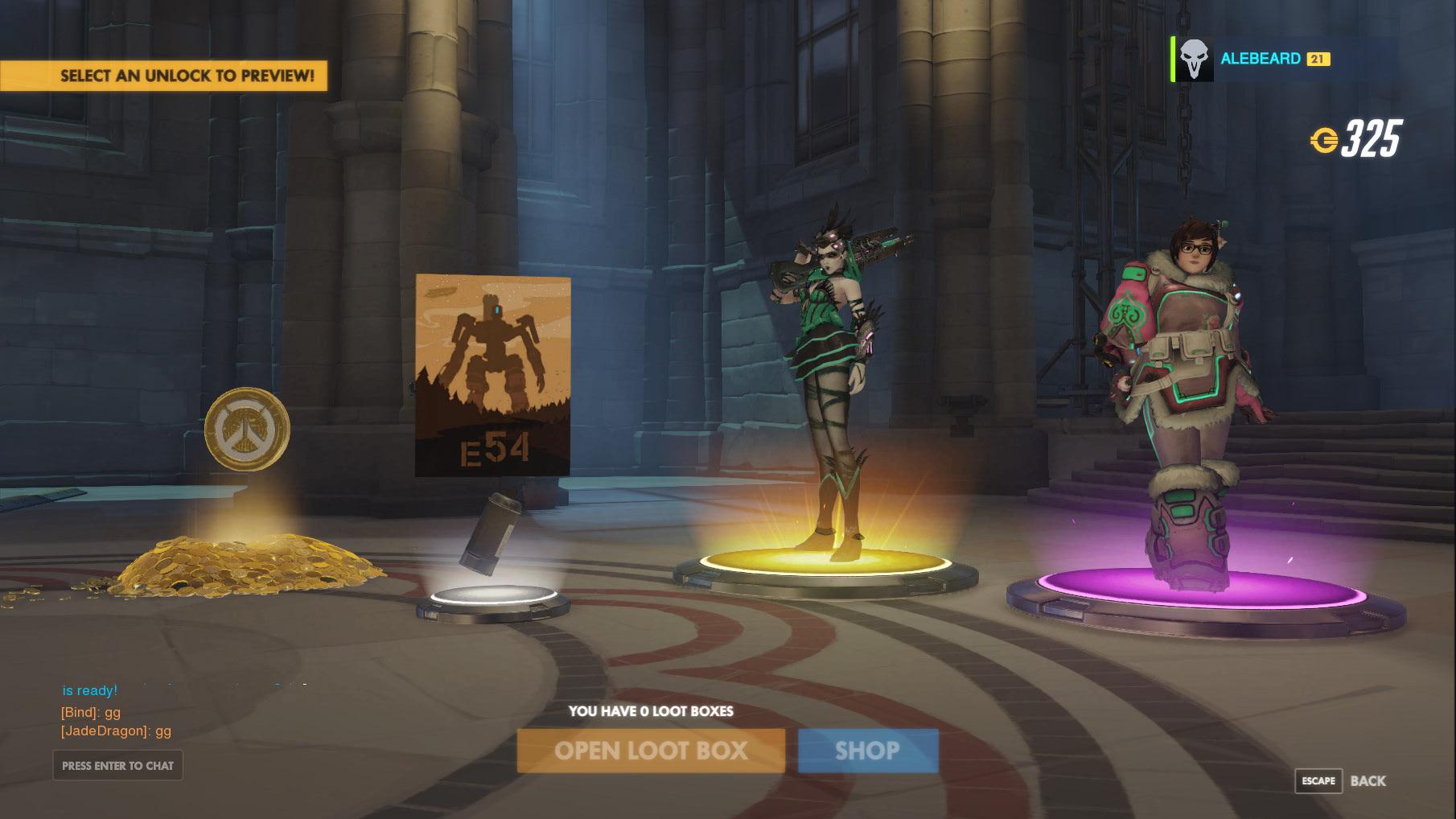 Overwatch - Chest