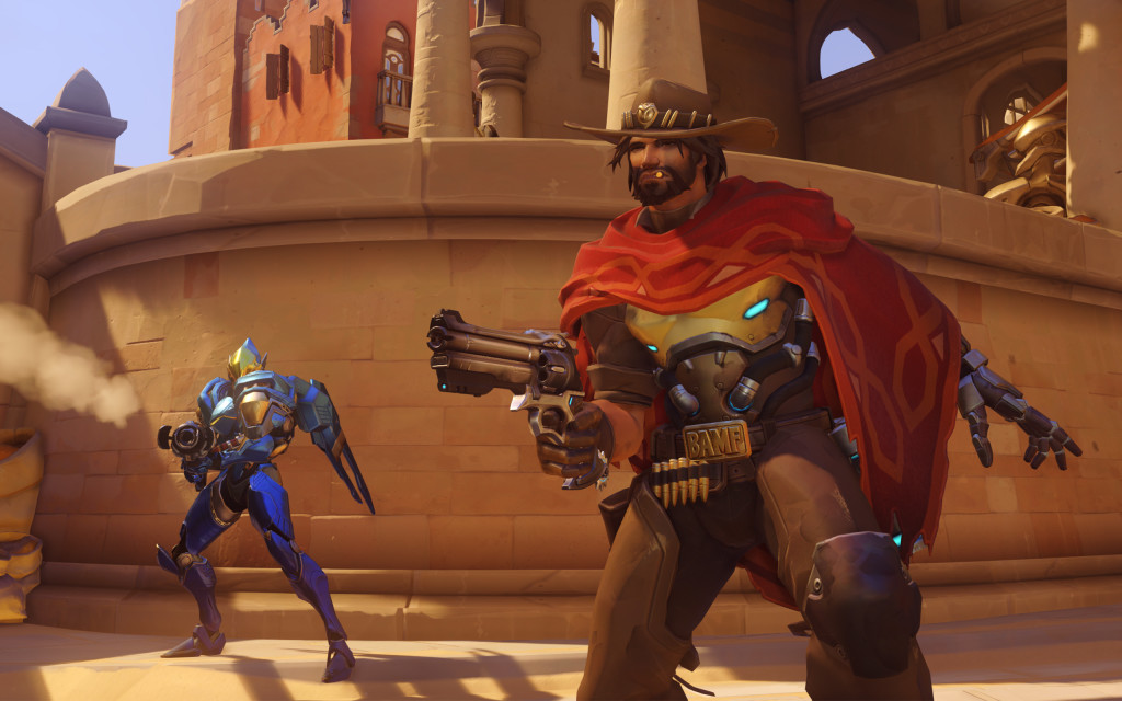 Overwatch - Mccree e Pharah