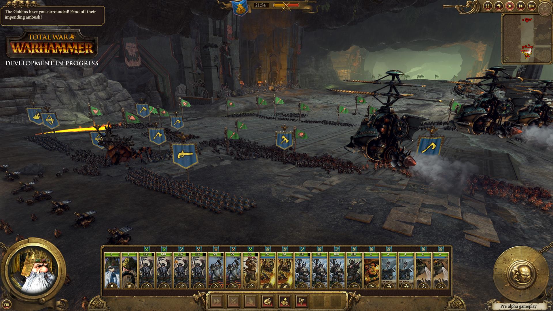 Total War Warhammer - Combattimento evento