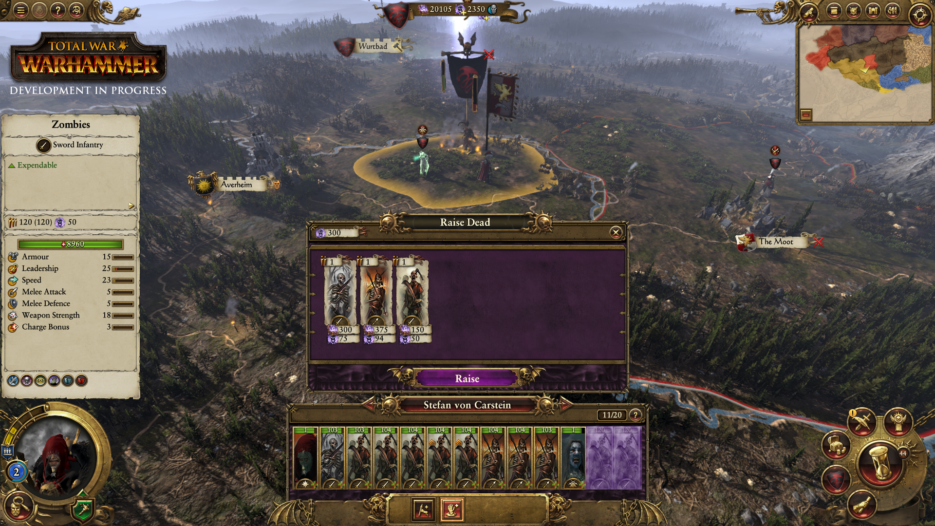 Total War Warhammer - Conti Vampiro