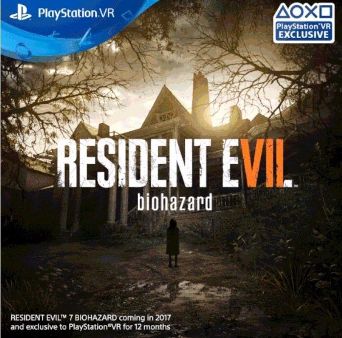 Capcom: Resident Evil 7 aiuterà la realtà virtuale sul mercato
