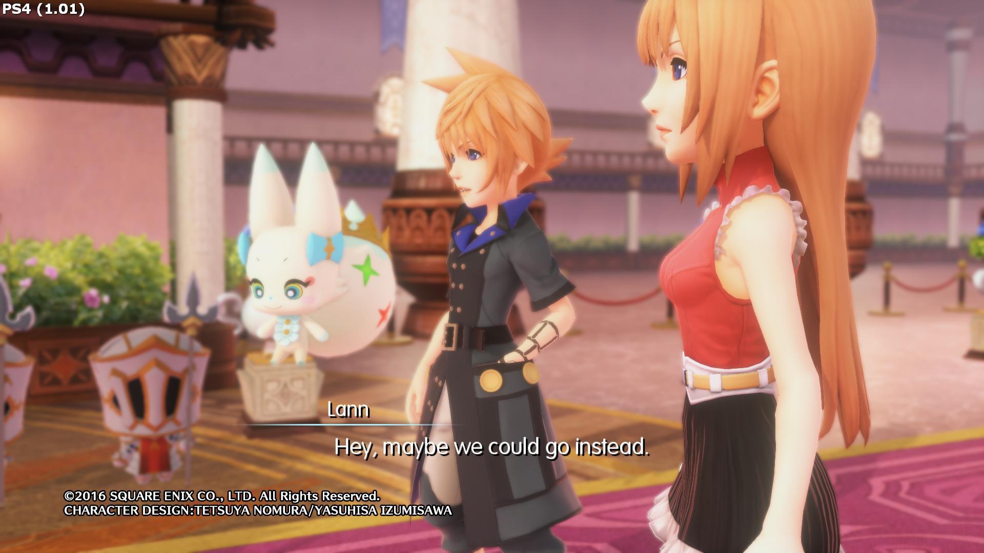 World of Final Fantasy: grafica sfocata dopo l'aggiornamento a PlayStation 4 Pro