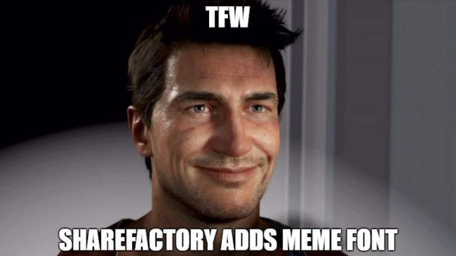 Meme Uncharted SHAREfactory