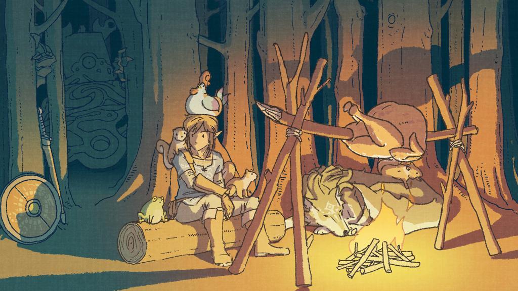 The Legend of Zelda: Breath of the Wild Ringraziamento