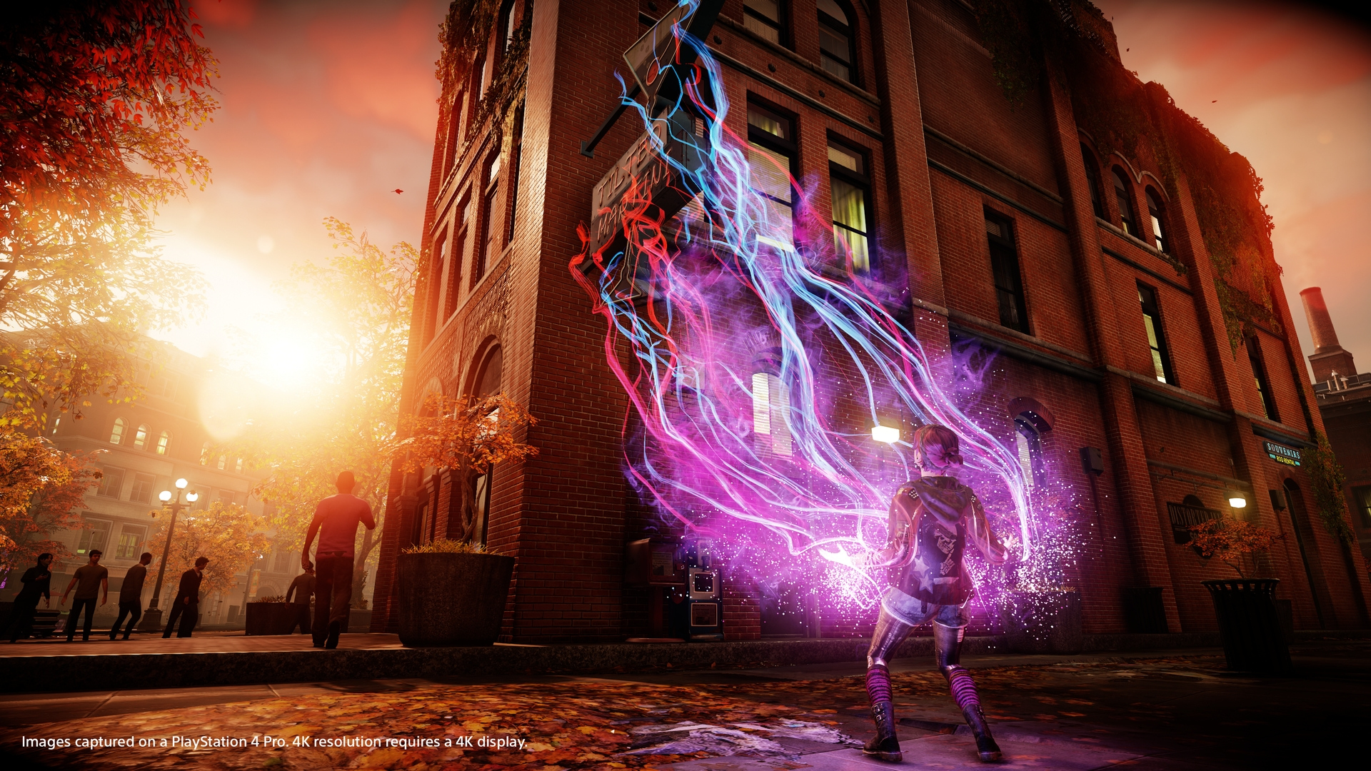 PS4 Pro: i miglioramenti di Infamous: Second Son e First Light