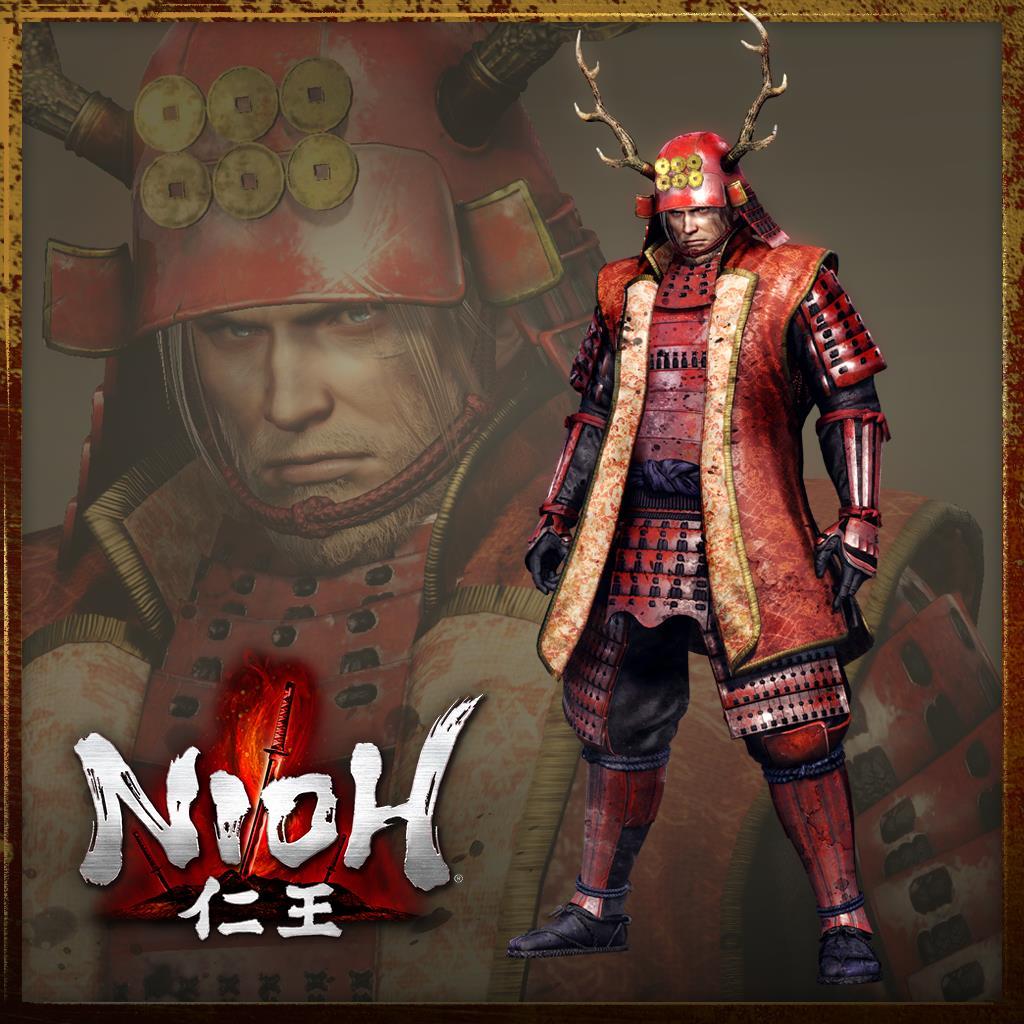 nioh Crimson Master Armour set