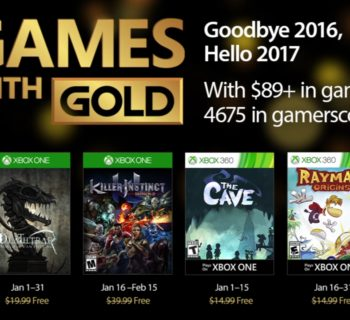 games with gold gennaio-2017