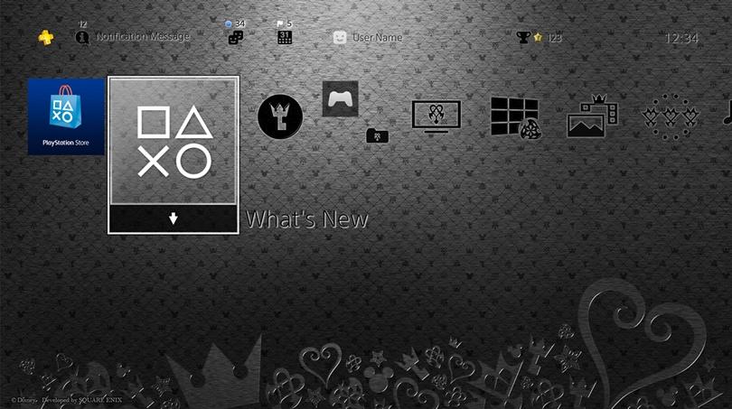 Tema Kingdom Hearts HD 2.8