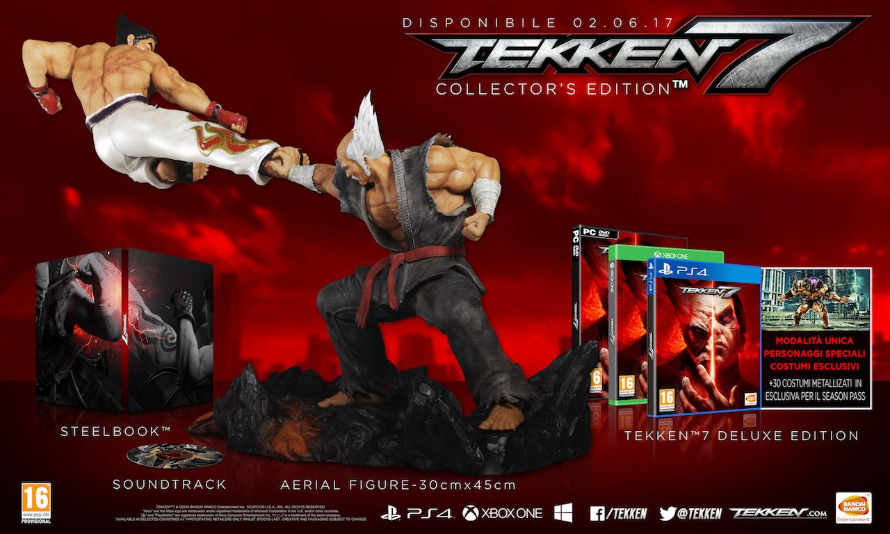 Tekken 7: annunciata la data d'uscita e le edizioni limitate