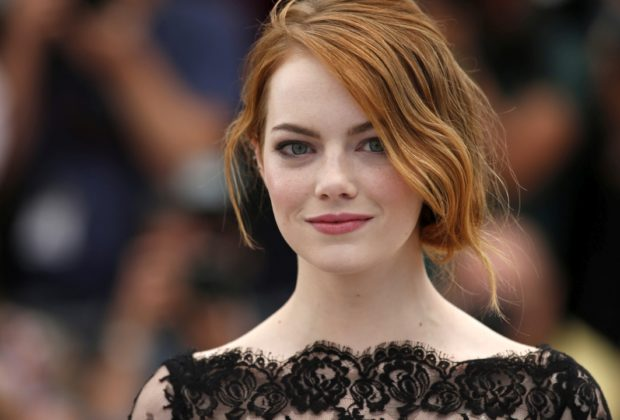 """Cast member Emma Stone poses during a photocall for the film """"Irrational Man"""" out of competition at the 68th Cannes Film Festival in Cannes, southern France, May 15, 2015.       REUTERS/Benoit Tessier - RTX1D3I6"""