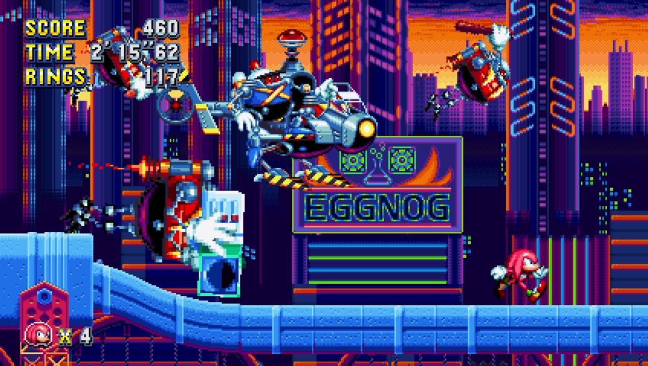 Sonic Mania: nuove immagini e video
