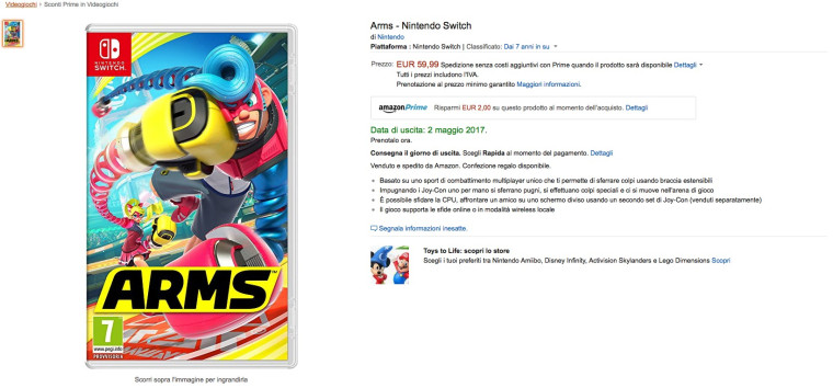 arms_releasedate_amazonit