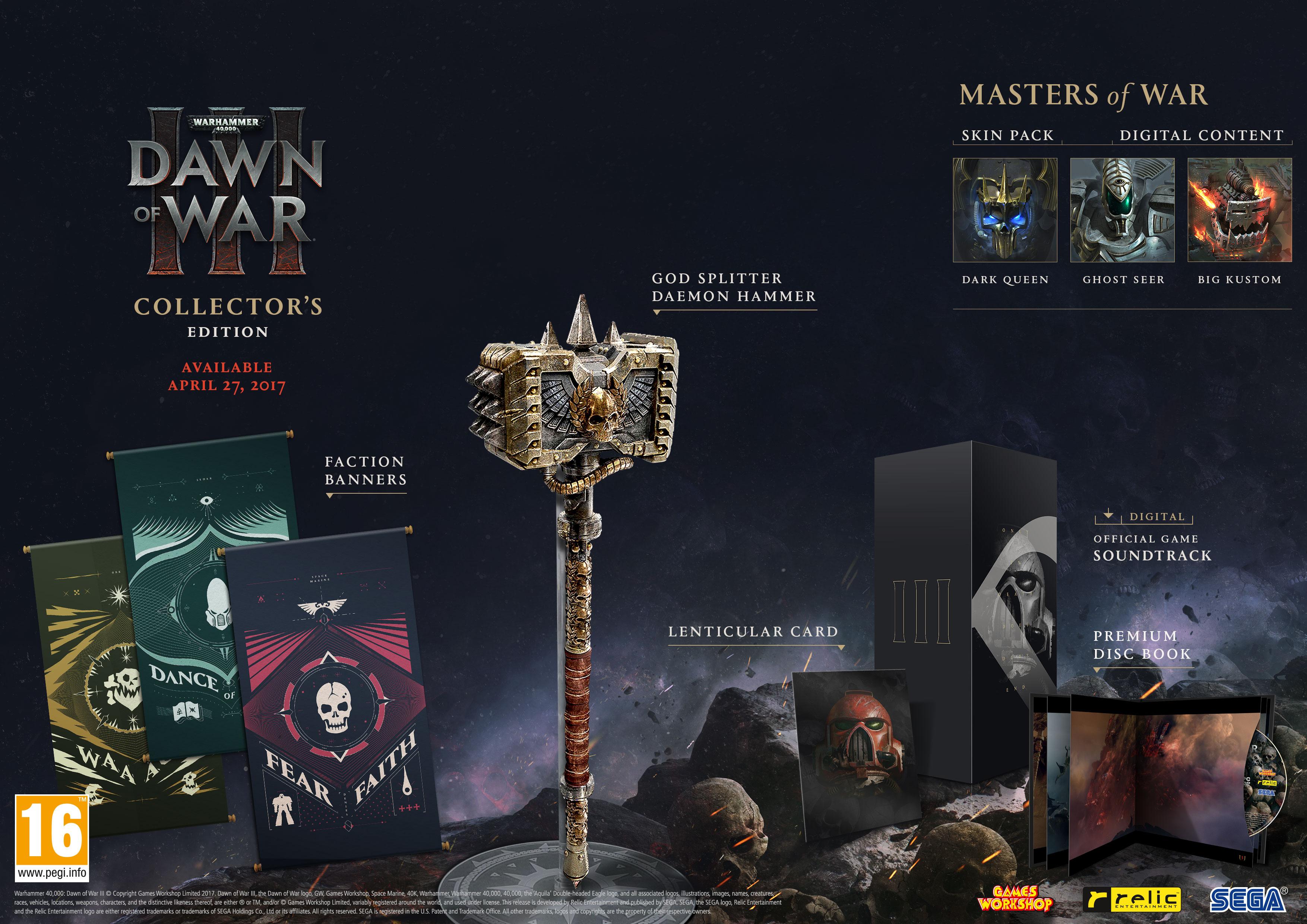 Warhammer Dawn of War 3, data di uscita annunciata