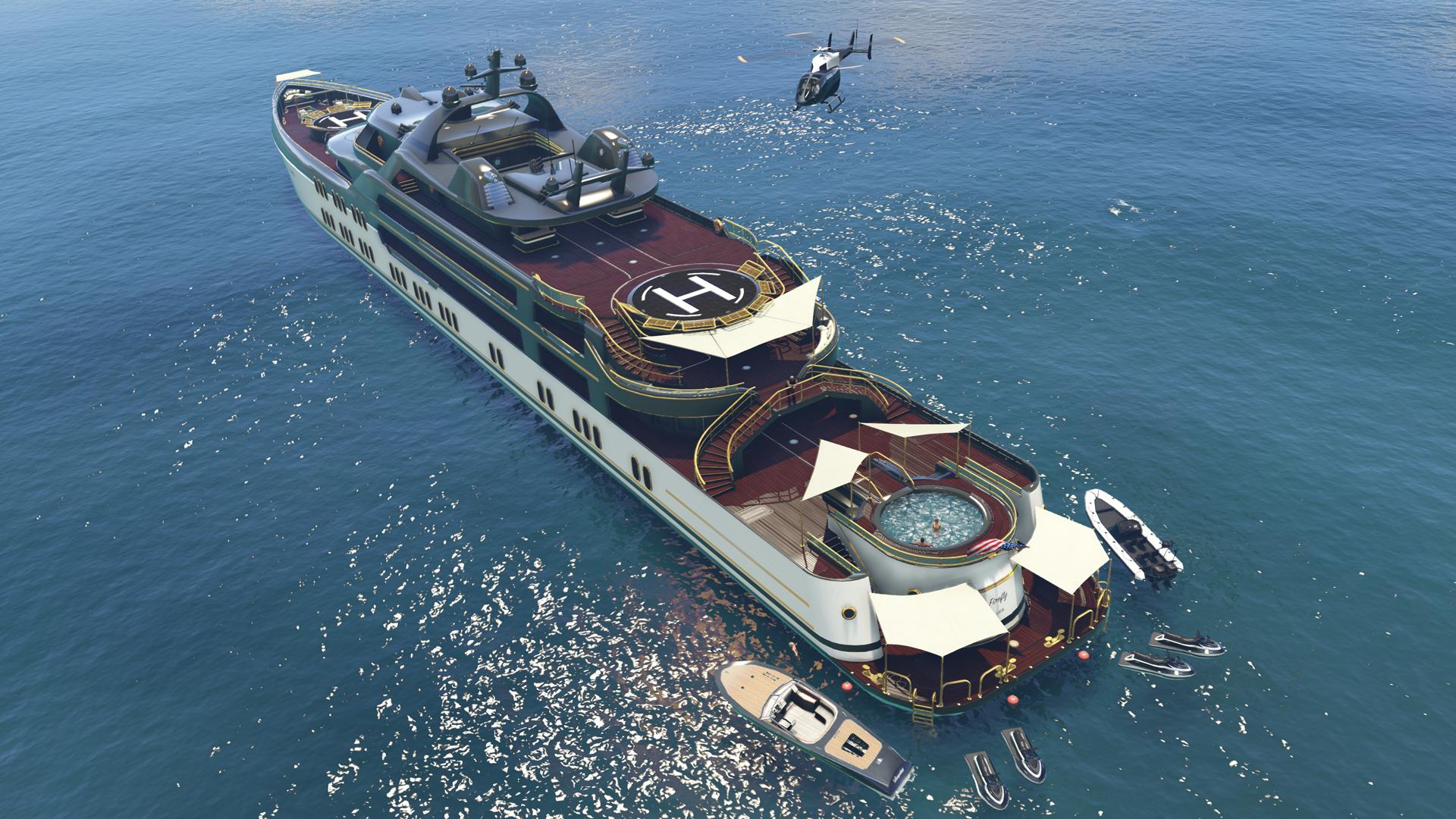GTA Online Yacht