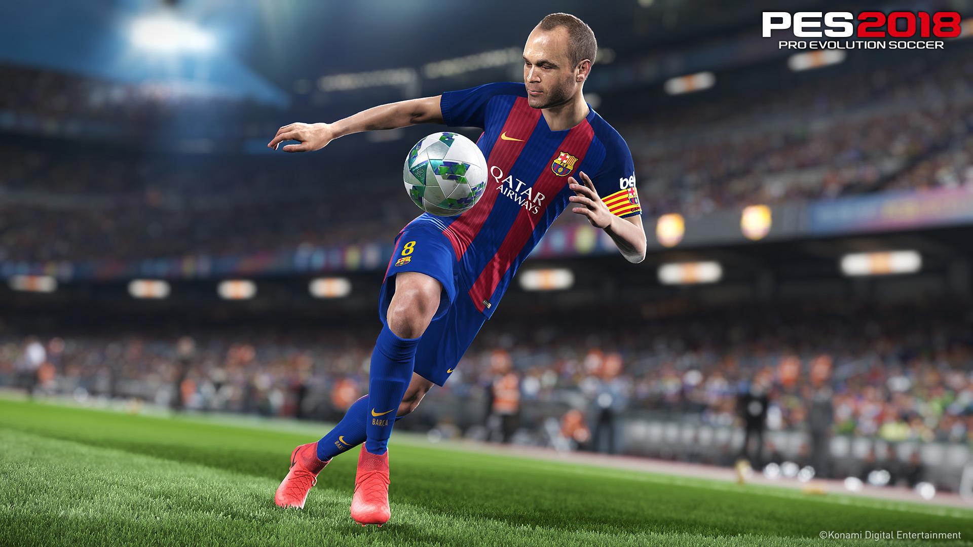 Konami annuncia ufficialmente PES 2018