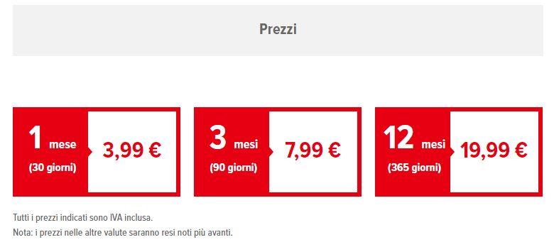 Nintendo switch online i prezzi italiani cambiano in for Piani di piscina gratuiti online