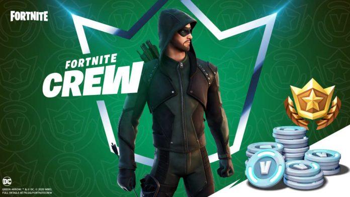 Green Arrow su Fortnite