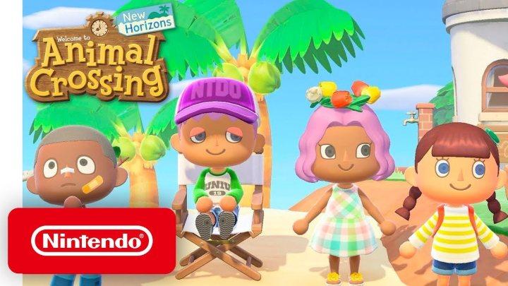 Animal Crossing: New Horizons giocato durante il  COVID-19