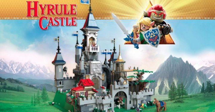 The Legend of Zelda Hyrule LEGO