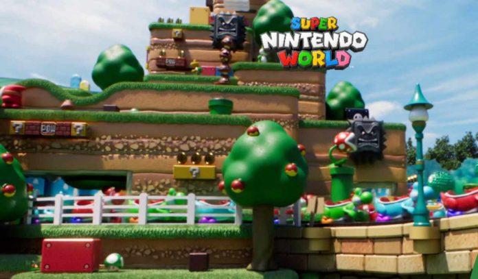 Super Nintendo World sito ufficiale