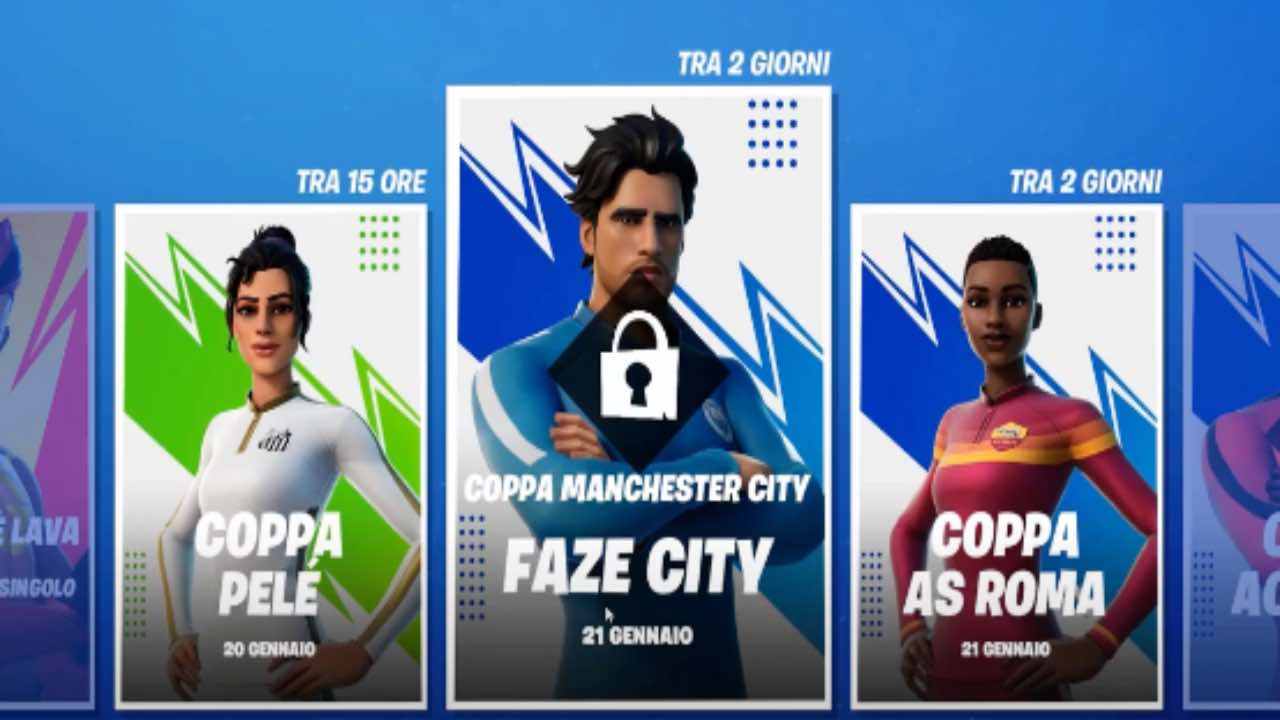 Fortnite calcio