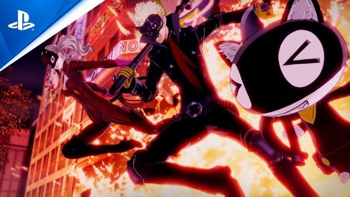Persona 5 Strikers phantom thieves 1