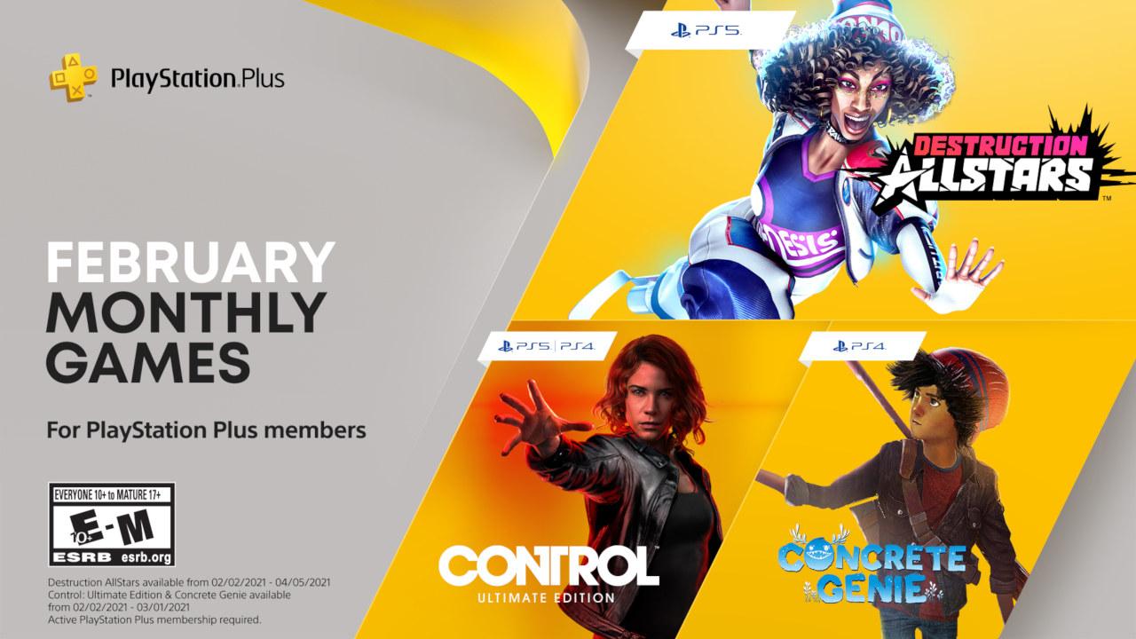 Playstation Plus febbraio