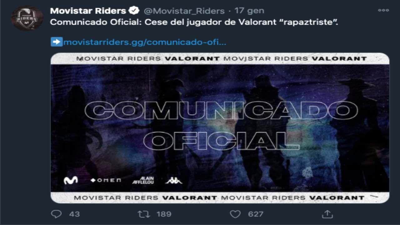 Valorant Movistar Riders