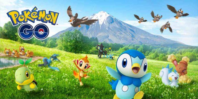 Tour di Pokémon GO di Kanto Sinnoh