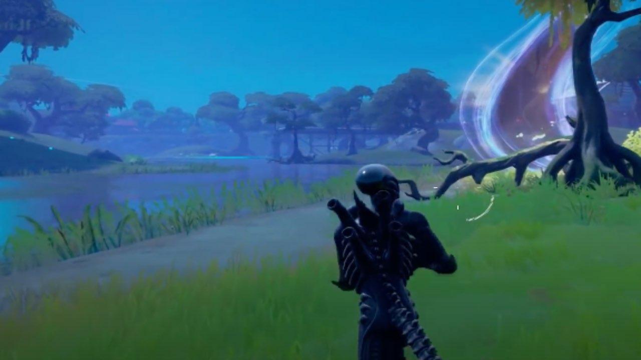 Alien Fortnite