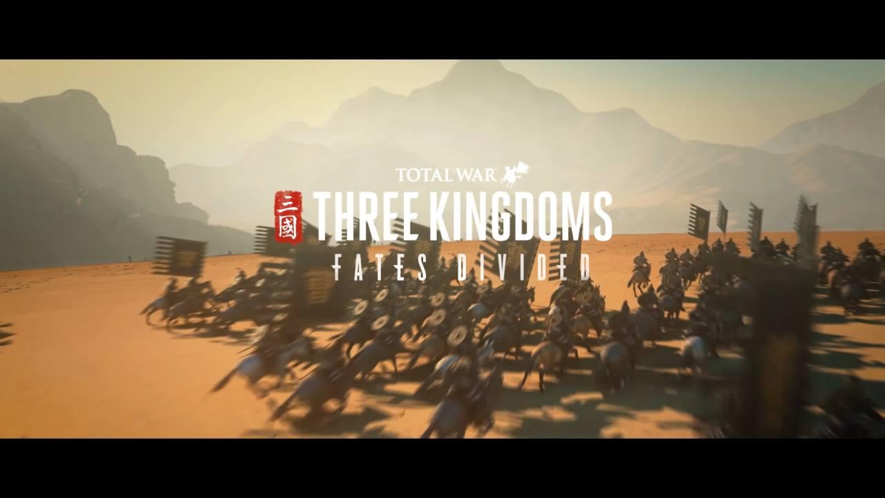 Fates Divided, il nuovo Chapter Pack di Total War: Three Kingdoms in uscita l'11 marzo