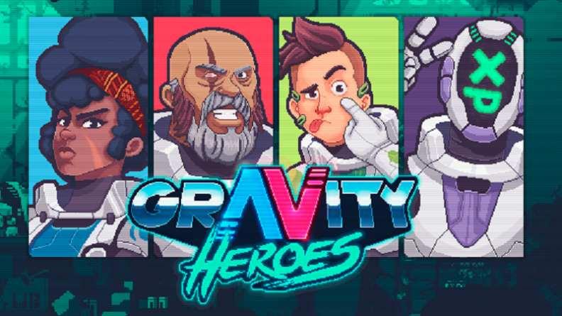 Gravity Heroes di PQube arriva su Steam