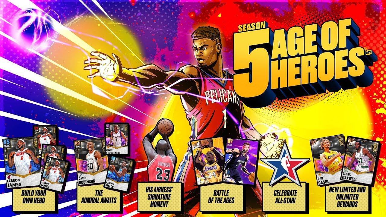 NBA 2K21 stagione Era degli Eroi