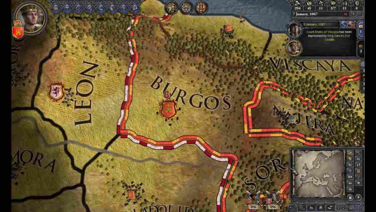 Paradox annuncia un sistema di abbonamento per Crusader Kings II