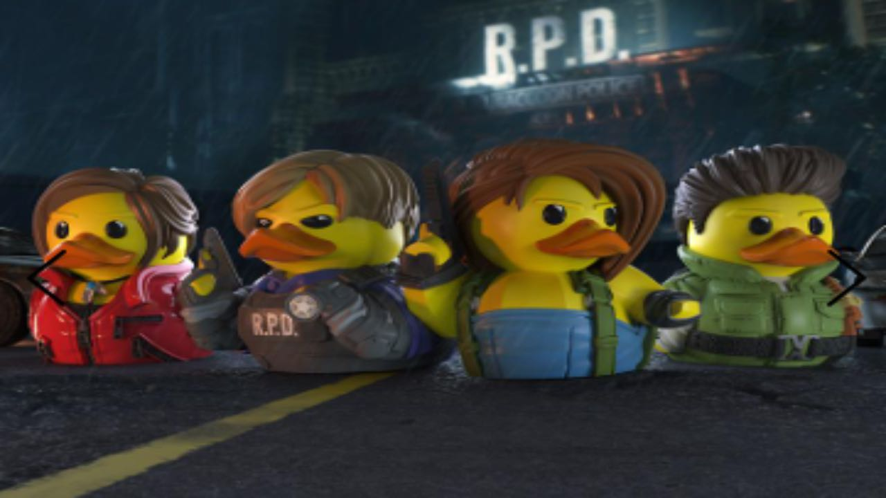 Resident Evil Paperelle collezionabili