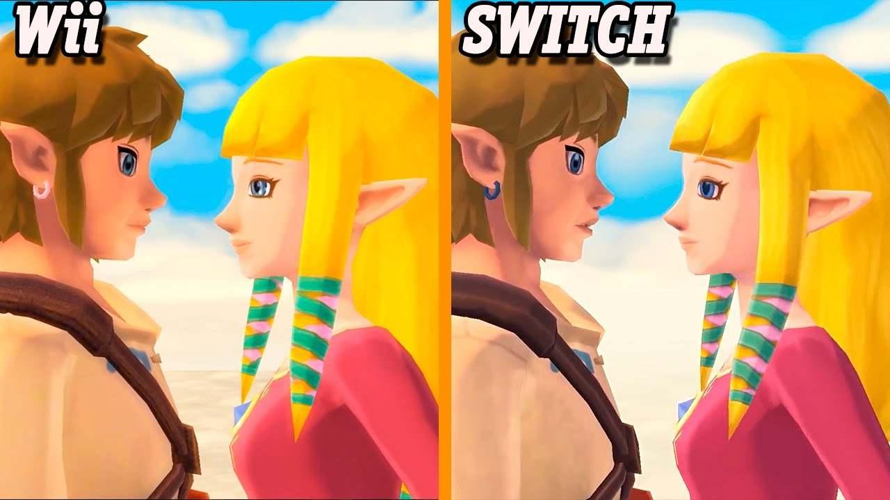 The Legend of Zelda Skyward Sword switch wii