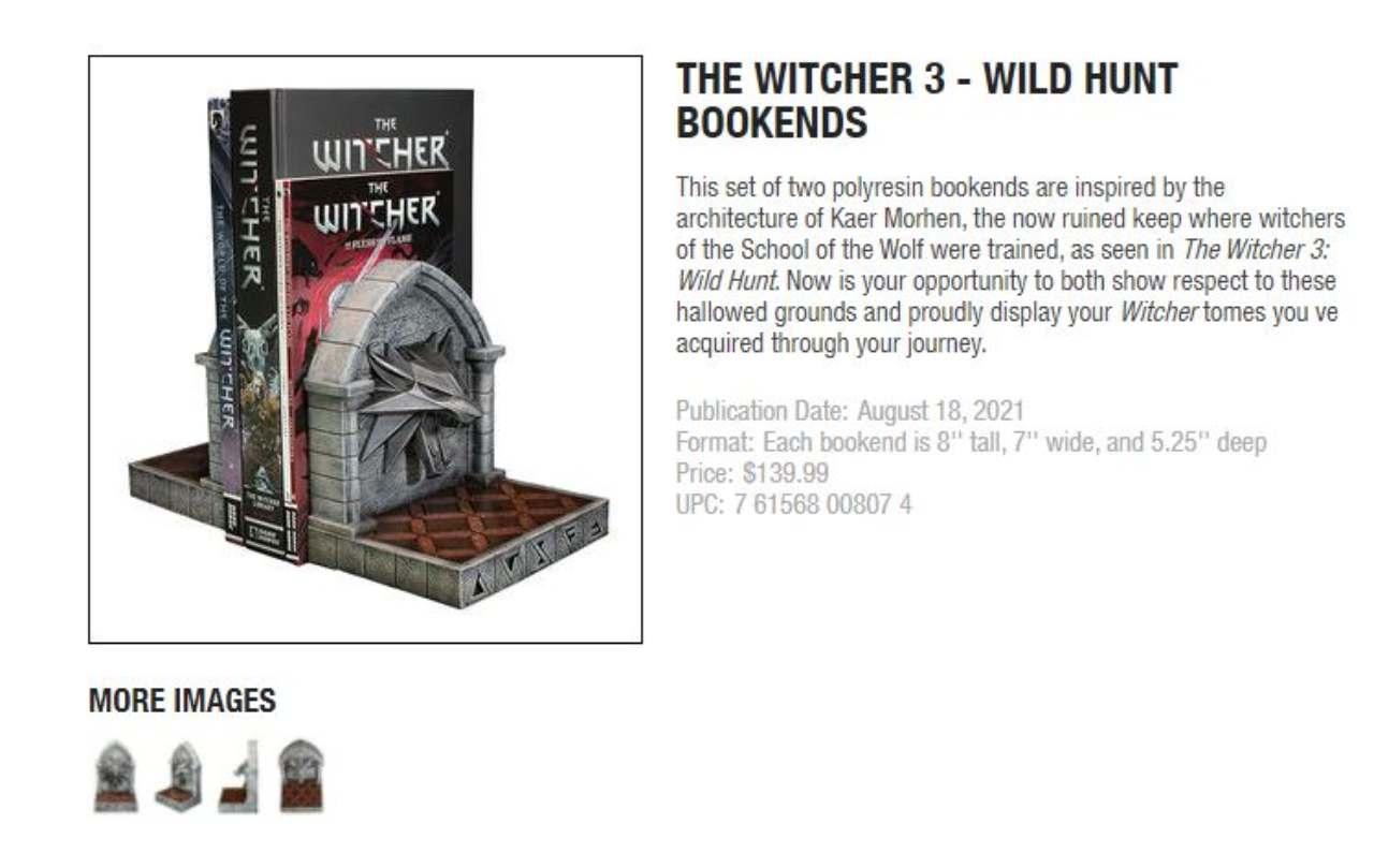 ferma libri the witcher