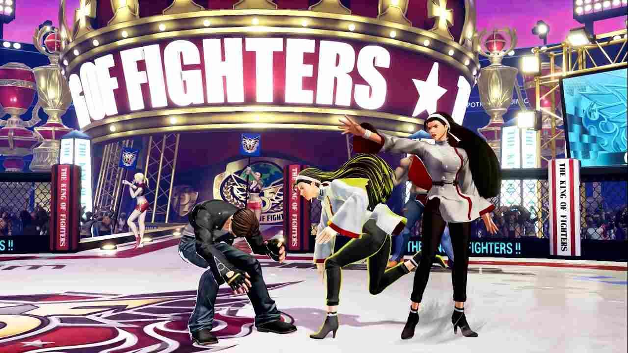 King of Fighters 15 Chizuru Kagura