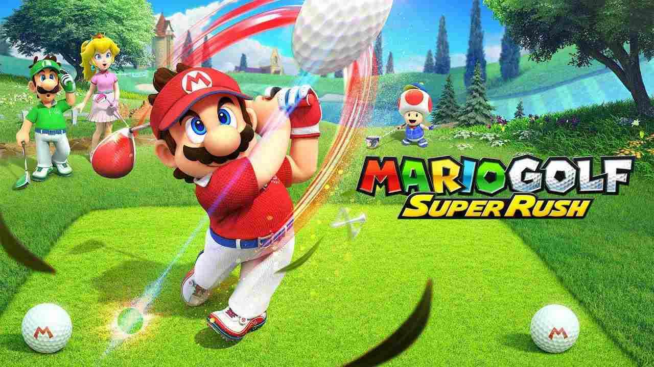 mario golf leak