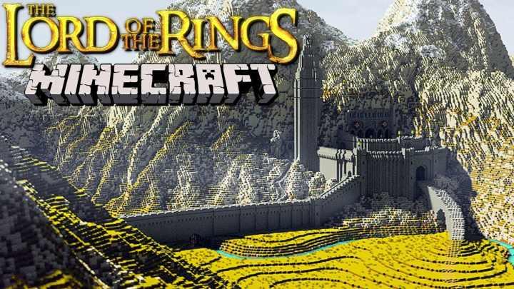 minecraft il signore degli anelli 1