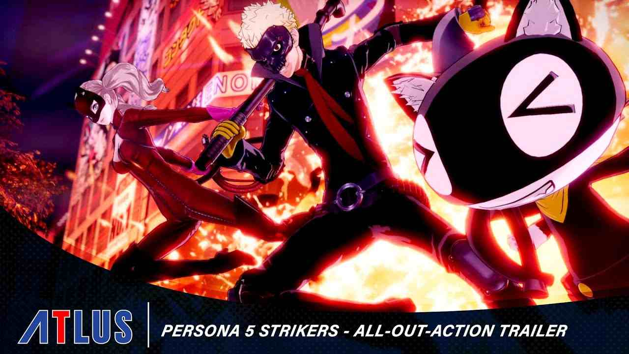 persona 5 strikers trailer lancio