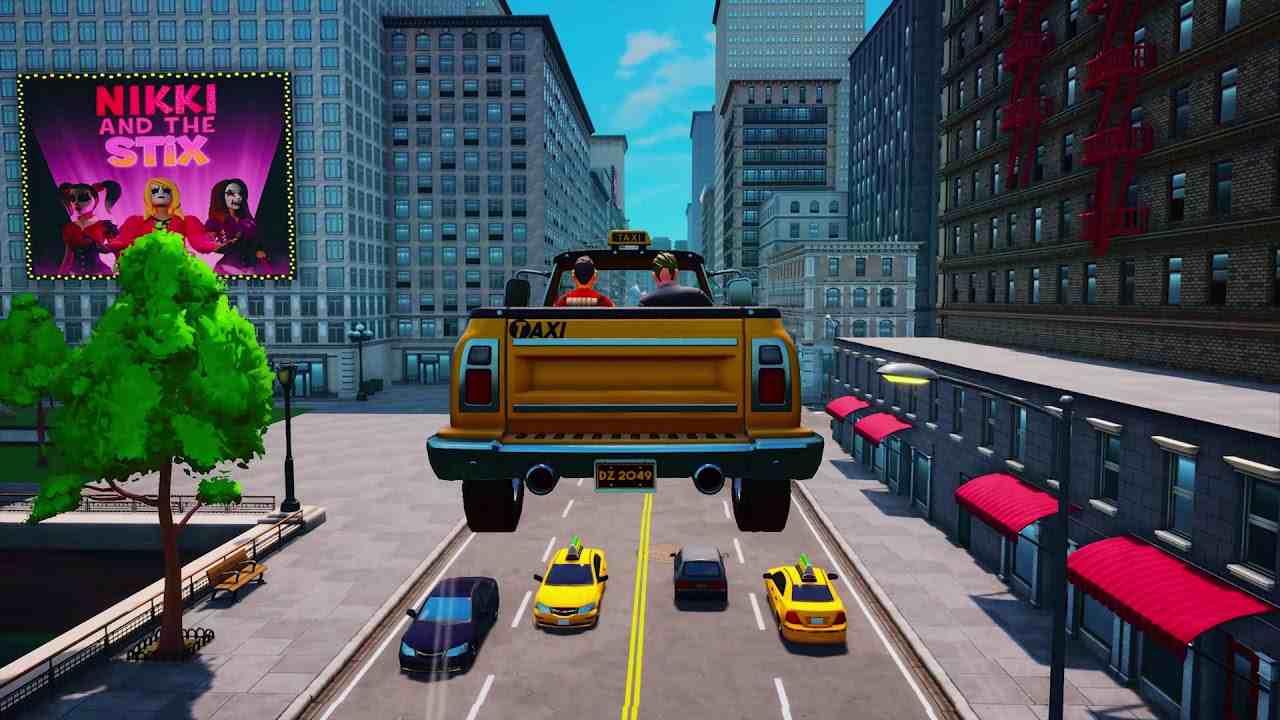 Taxi Chaos trailer lancio