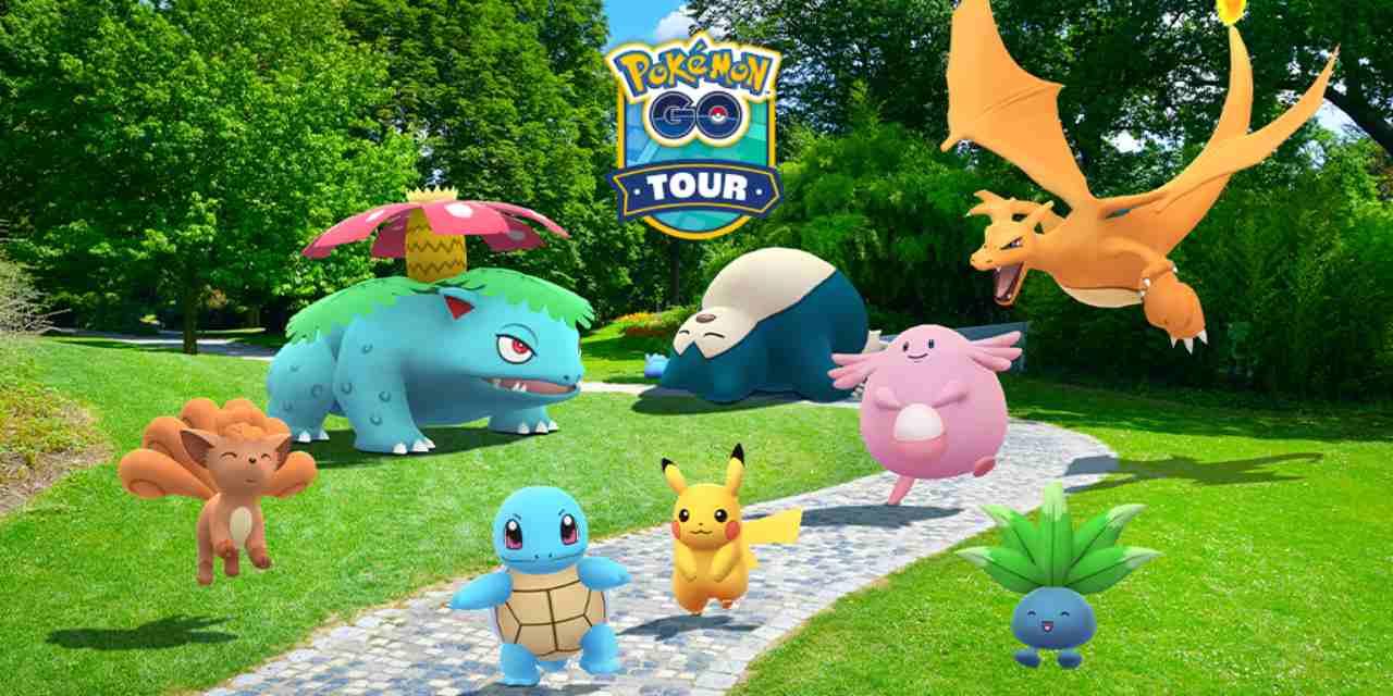 tour pokemon go kanto