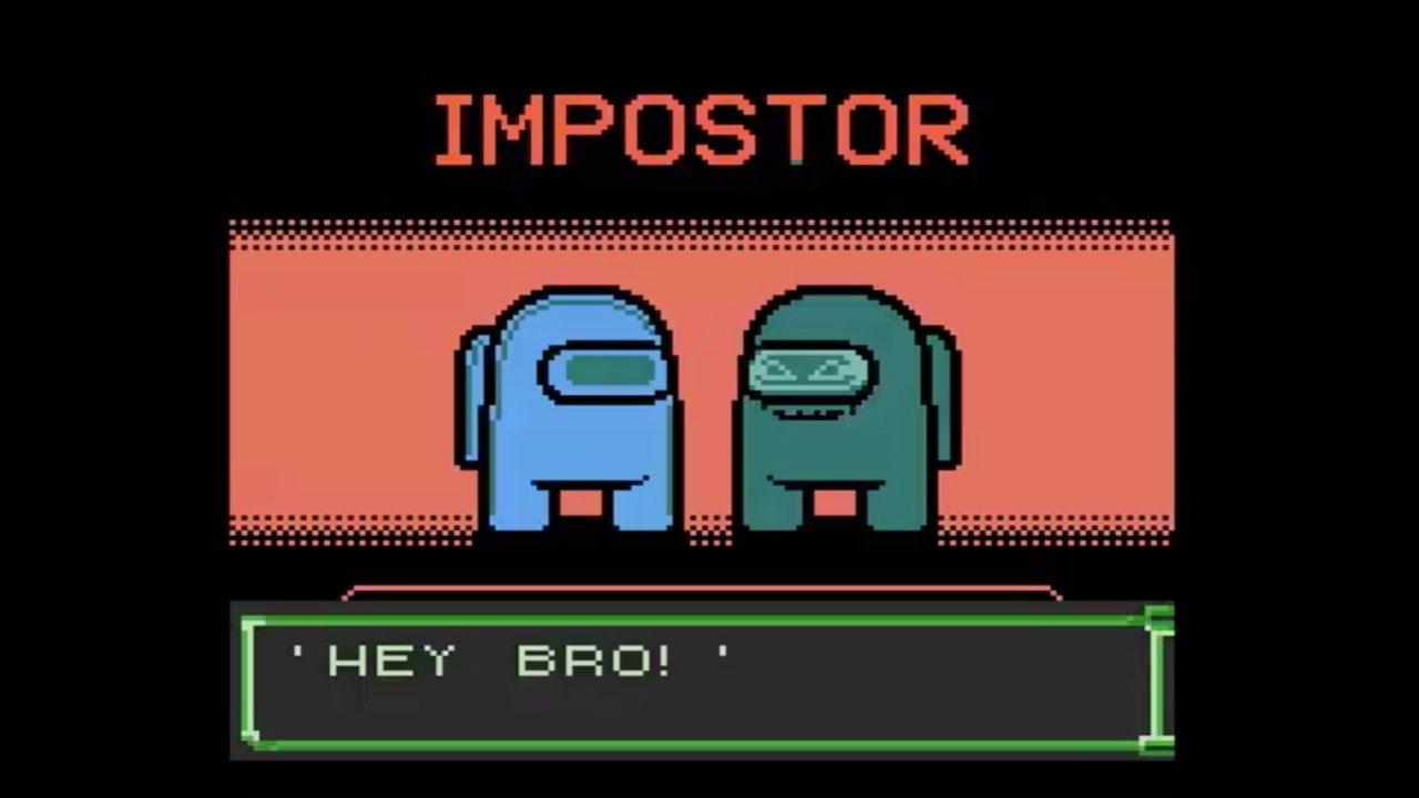 Among Us Game Boy Color