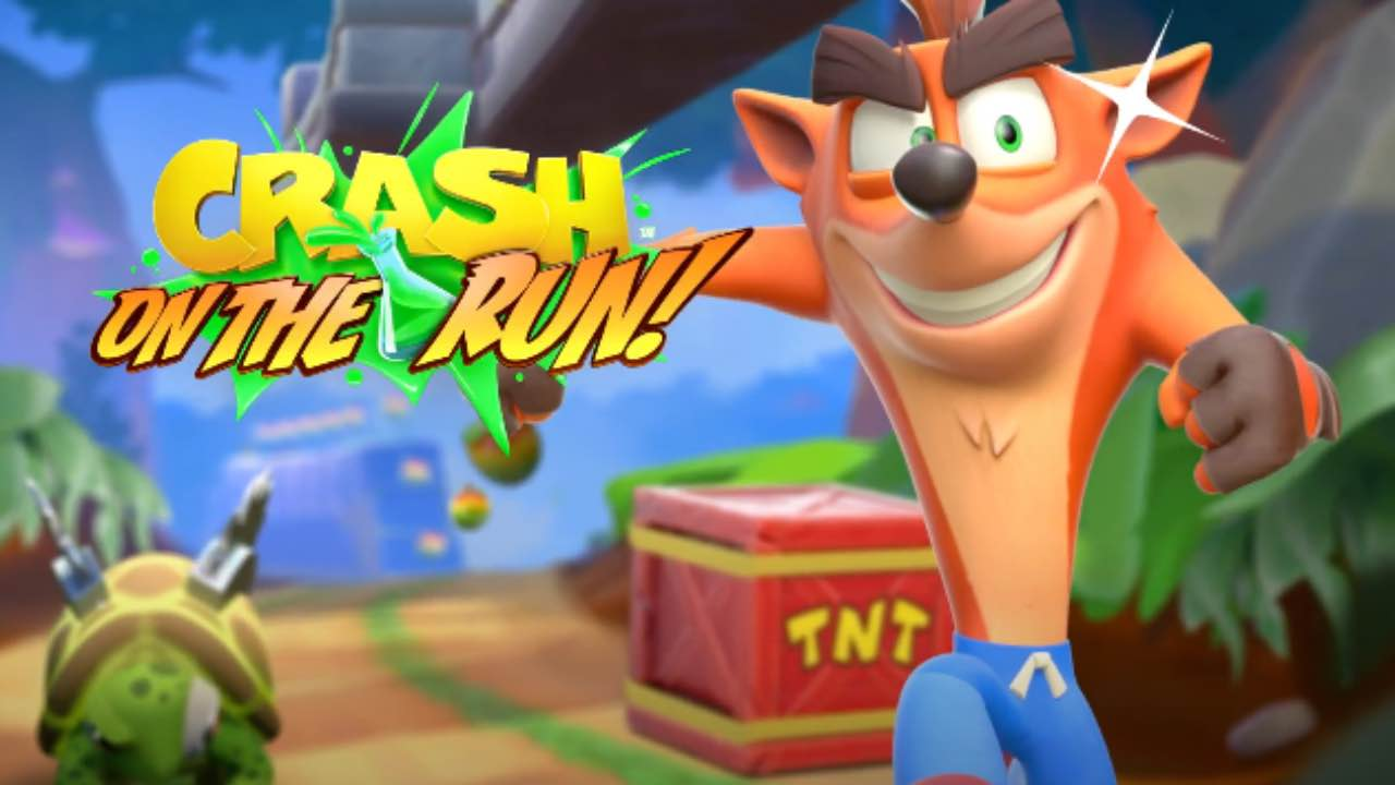 Crash Bandicoot On The Run!