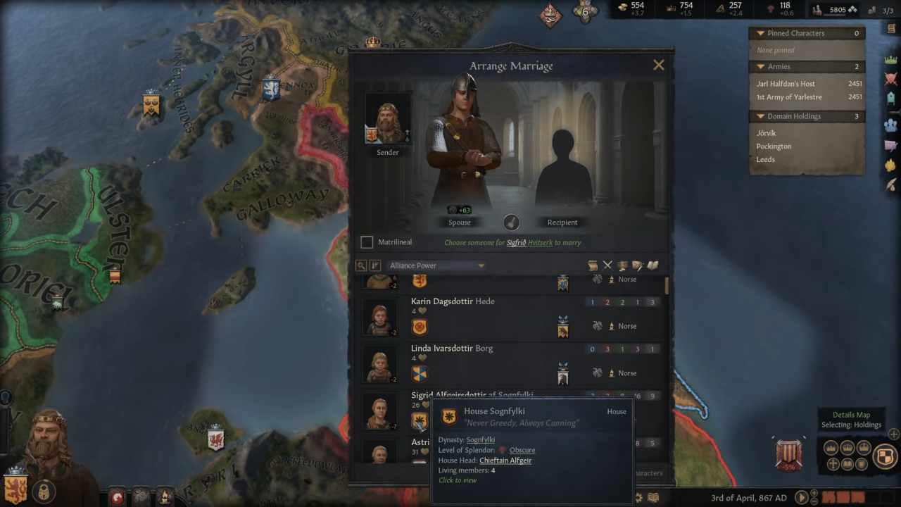Crusader Kings 3: arrivano i duelli uno contro uno